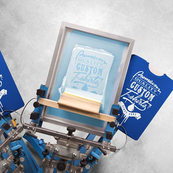 Screen Print Press