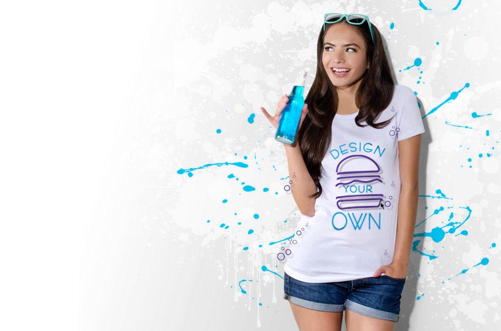 Custom T Shirts Design Your Own T Shirts At Uberprints