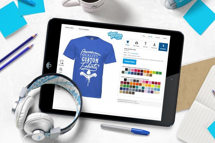 Custom T-Shirts - Design Your Own T Shirts at UberPrints