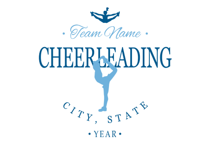Cheerleading t-shirt designs