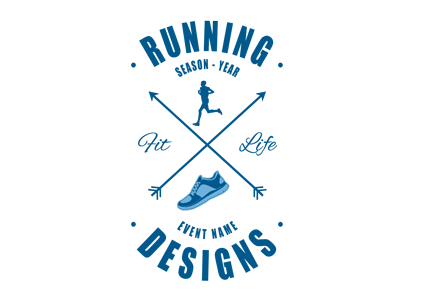Running t-shirt designs