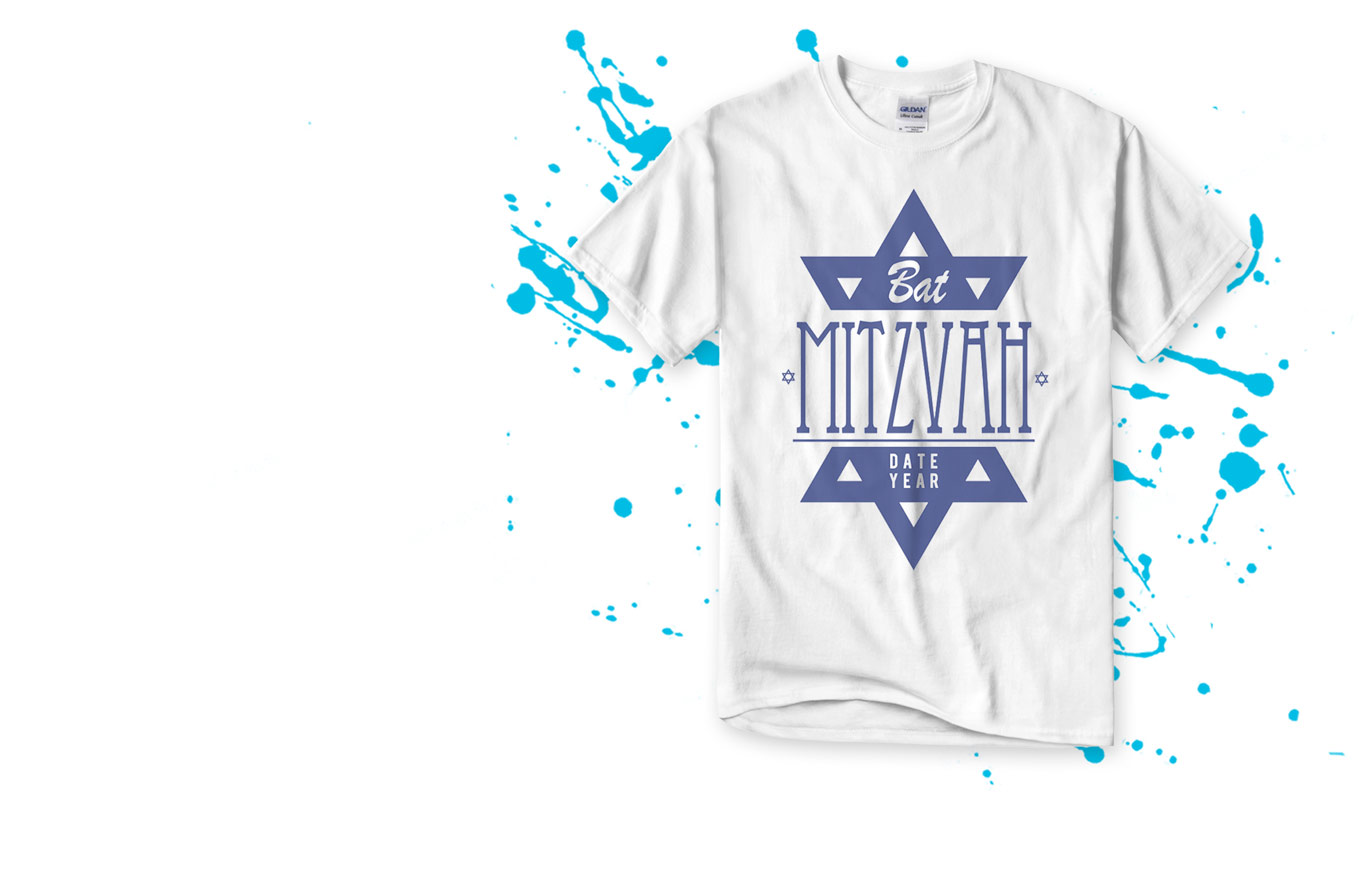 Create Bat Mitzvah Shirts