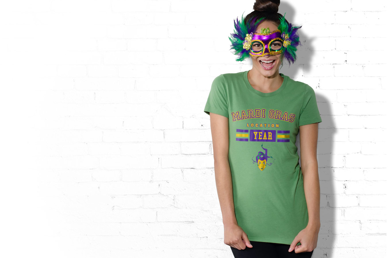 Create Mardi Gras Shirts