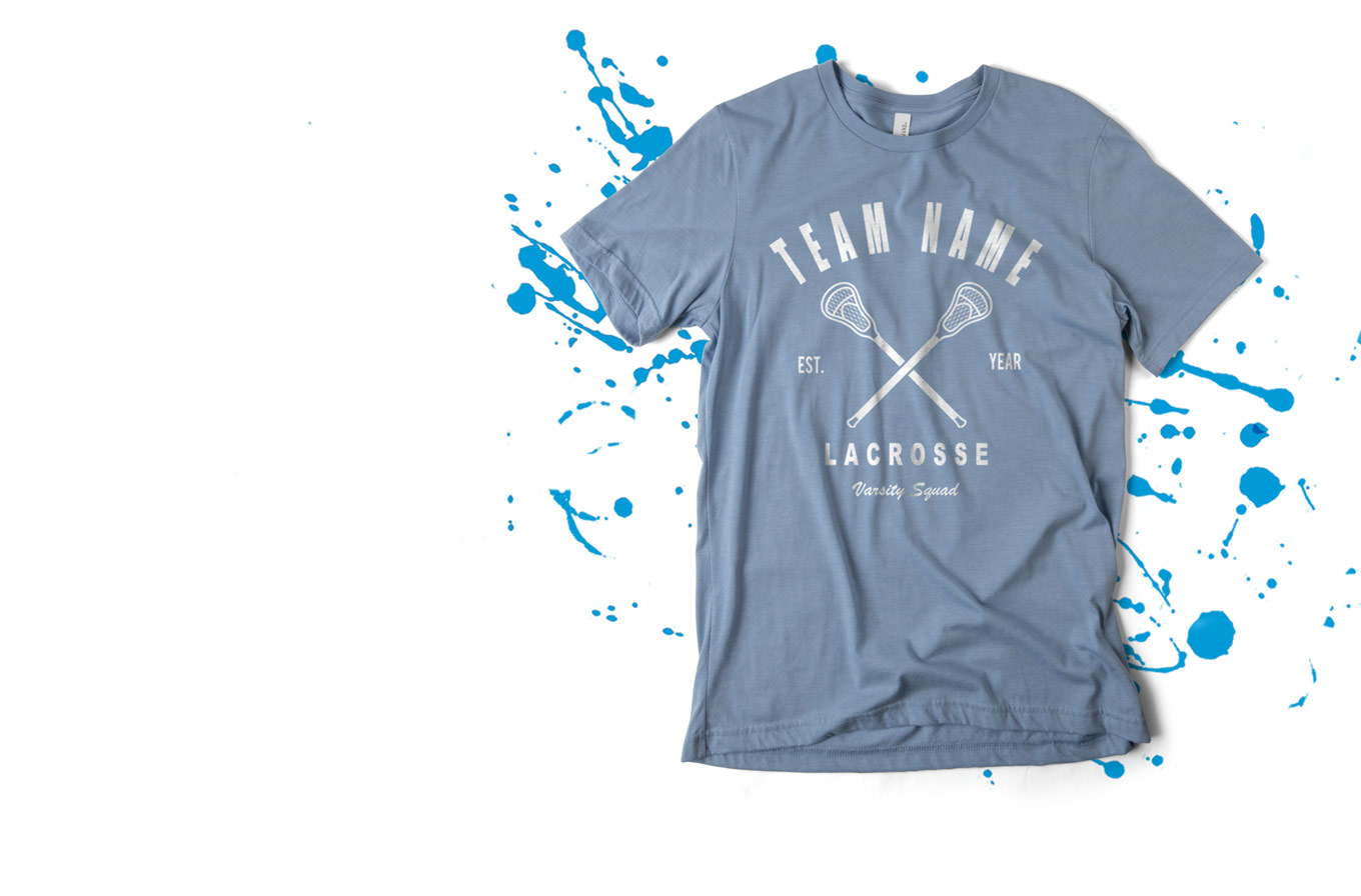 Create Lacrosse T-Shirts
