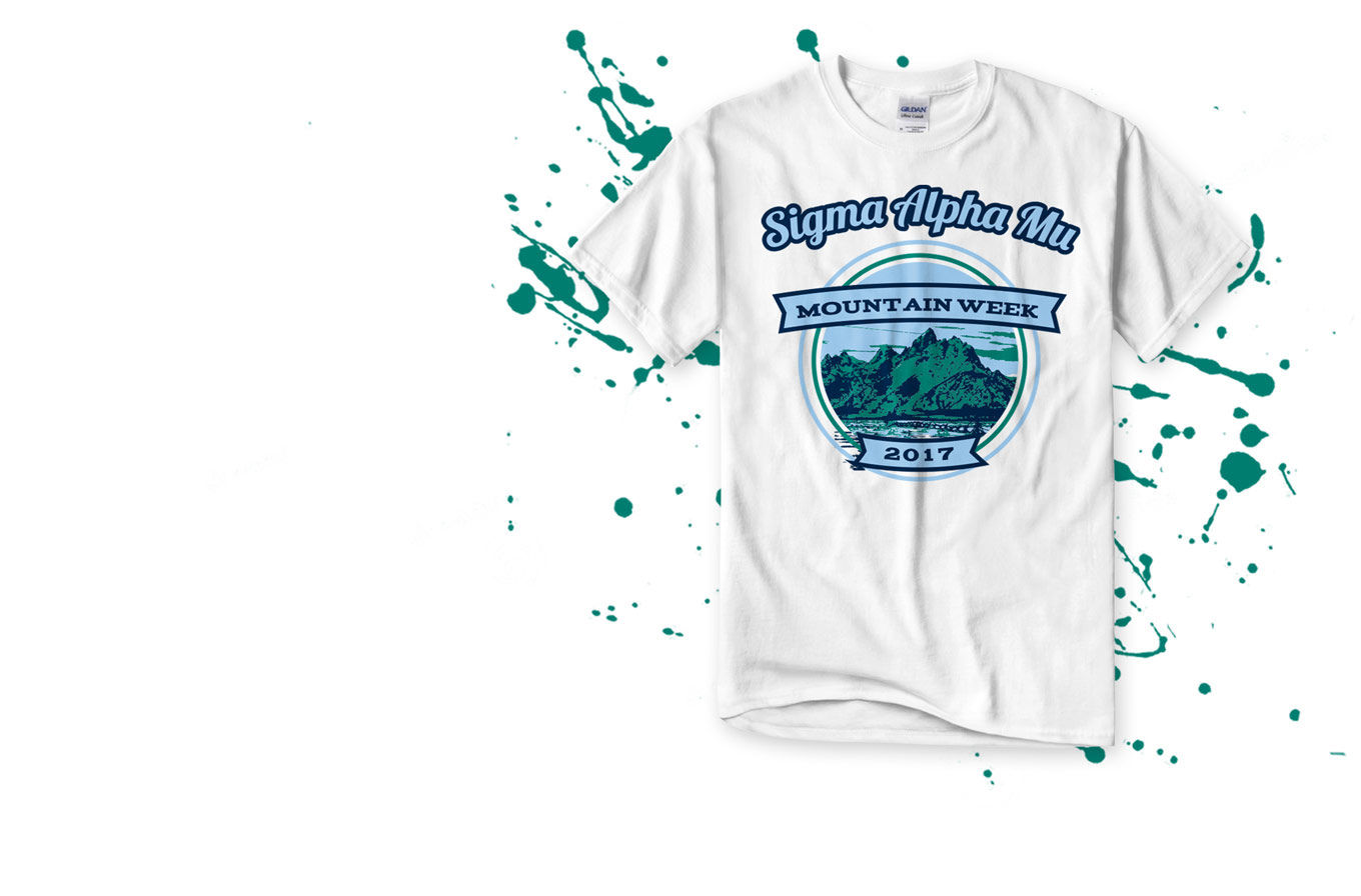 Custom Sigma Alpha Mu T-Shirts