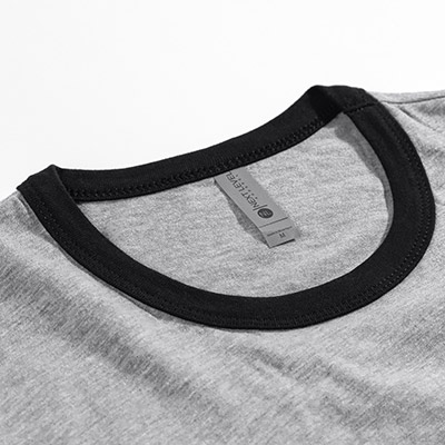 Thumbnail of additional photo of Next Level Fine Jersey Ringer Tee 1
