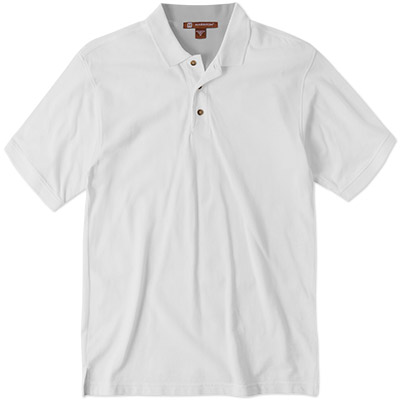 Harriton Cotton Pique Polo