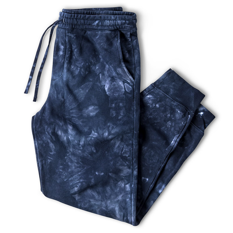 Independent Trading Tie-Dyed Sweatpants - Tie Dye Navy