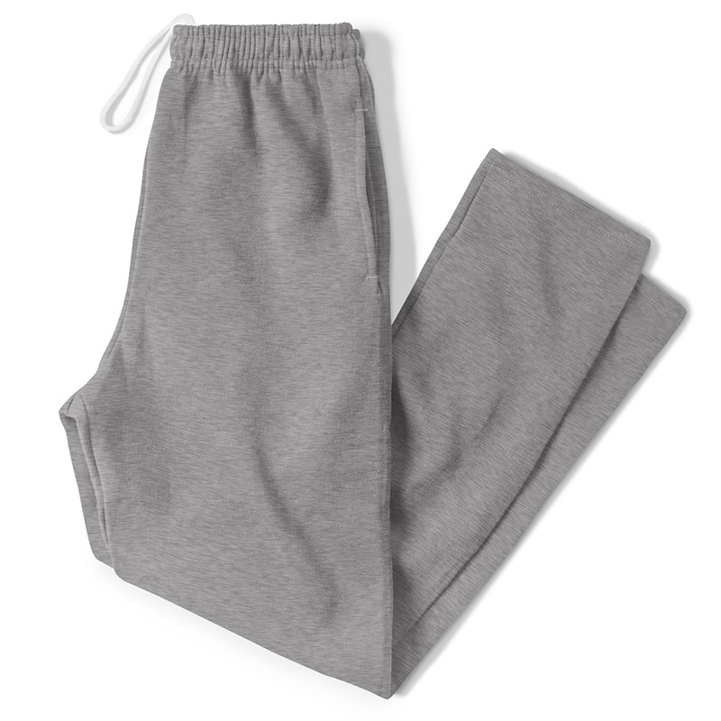 Russell Athletic Dri-Power Open Bottom Pocket Sweatpants - Oxford