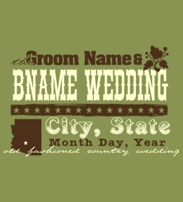 Create Custom Wedding T-Shirts