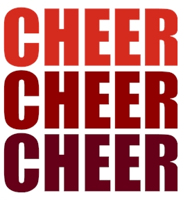 Cheerleading t-shirt design 34