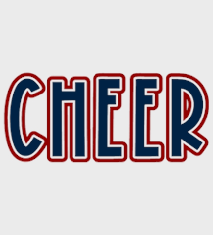 Cheerleading t-shirt design 41