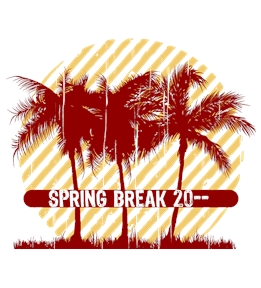 Spring Break t-shirt design 34