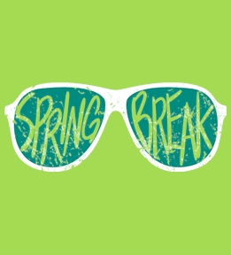 Spring Break t-shirt design 32