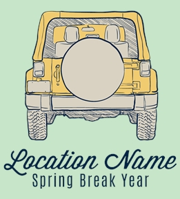 Spring Break t-shirt design 27