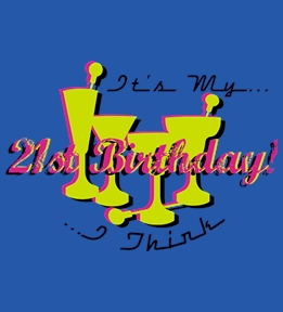 Design Custom 21st Birthday Shirts