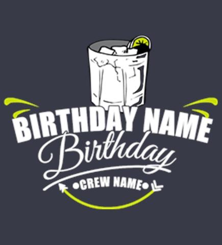 Custom Birthday Shirts - Create Custom Tees at Uber Prints.com