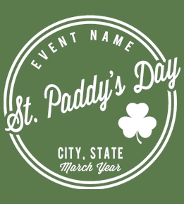 Create Custom St. Patrick's Day Shirts Online At UberPrints