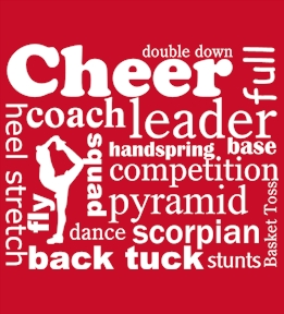 Cheerleading t-shirt design 38