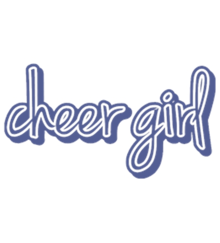 Cheerleading t-shirt design 21