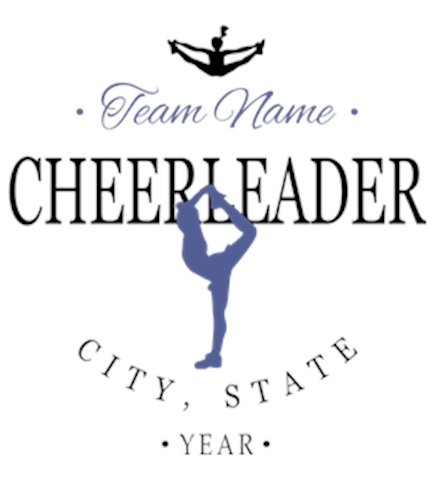 Create Custom Cheerleading T-Shirts