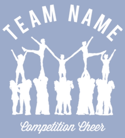 Cheerleading t-shirt design 18