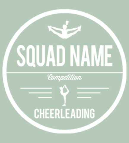 Cheerleading t-shirt design 11