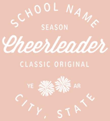 Create Custom Cheerleading T-Shirts
