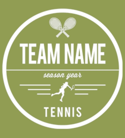 Custom Tennis T-Shirts - Design Shirts Online - UberPrints.com