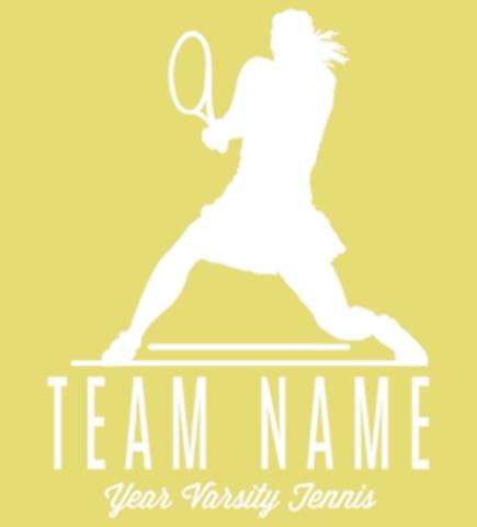 Custom Tennis T-Shirts - Design Shirts Online - UberPrints.com