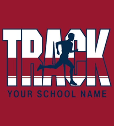 Track/Cross Country t-shirt design 19