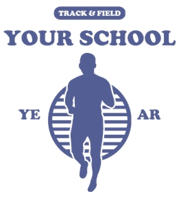 Track/Cross Country t-shirt design 18