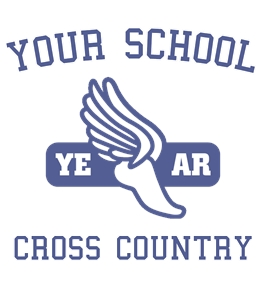 Track/Cross Country t-shirt design 16