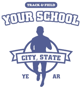 Track/Cross Country t-shirt design 24