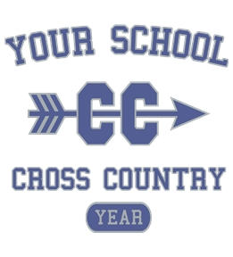 Track/Cross Country t-shirt design 1