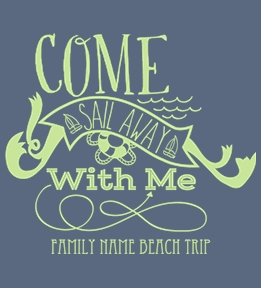 Family Vacation t-shirt design 34