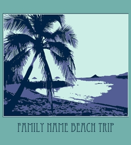 Family Vacation t-shirt design 33