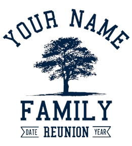 Create Family Reunion Tees - Custom Shirts at UberPrints.com