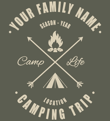 Family Vacation t-shirt design 42