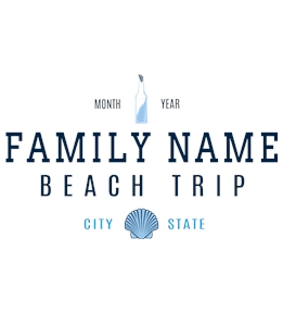 Family Vacation t-shirt design 2