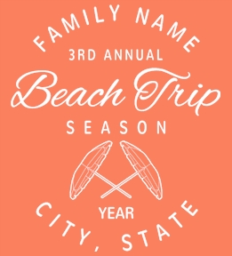 Family Vacation t-shirt design 41