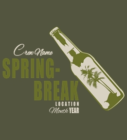 Spring Break t-shirt design 21