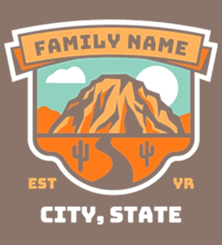 Family Vacation t-shirt design 14
