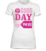 Custom Phi Mu T-Shirts | Create Online at UberPrints.com