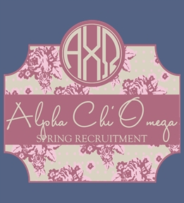 Create Custom Alpha Chi Omega Shirts