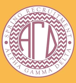 Custom Alpha Gamma Delta T-Shirts