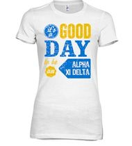 Custom Alpha Xi Delta Shirts | Design Online at UberPrints.com