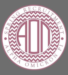 Custom Alpha Omicron Pi Shirts | Design Online at UberPrints.com