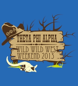 Custom Theta Phi Alpha T-Shirts | Design Online at UberPrints.com