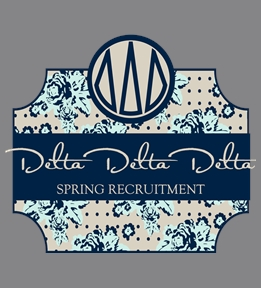 Custom Delta Delta Delta Shirts | Design Online at UberPrints.com